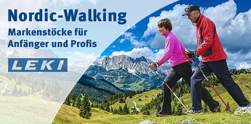 Nordic Walking. Markenstöcke in großer Auswahl bei Sport-Thieme!